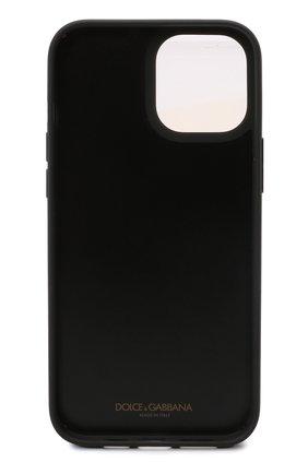 Чехол для iphone 12 pro max DOLCE & GABBANA черно-белого цвета, арт. BP2906/AQ276 | Фото 2