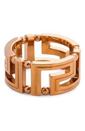 Женское кольцо VERSACE золотого цвета, арт. DG57594/DJMT | Фото 1 (Материал: Металл)