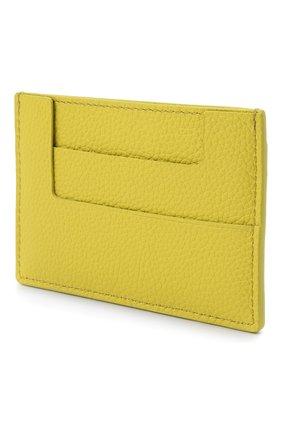 Женский кожаный футляр для кредитных карт TOM FORD зеленого цвета, арт. S0250T-LCL095 | Фото 2