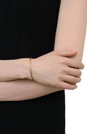 Женский браслет MAISON MARGIELA золотого цвета, арт. SM3UY0018/S12959   Фото 2 (Материал: Серебро)