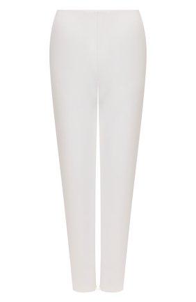 Женские брюки GIORGIO ARMANI белого цвета, арт. 1WHPP0JY/T02VH | Фото 1 (Длина (брюки, джинсы): Стандартные; Материал внешний: Синтетический материал, Шерсть; Женское Кросс-КТ: Брюки-одежда; Силуэт Ж (брюки и джинсы): Прямые; Стили: Кэжуэл)