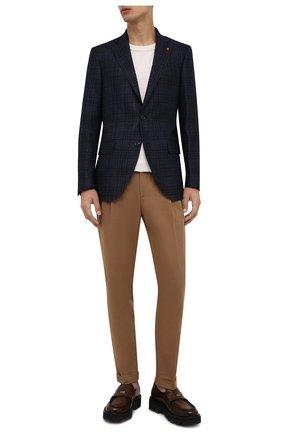 Мужские кожаные пенни-лоферы BARRETT коричневого цвета, арт. 212U021.1/NEW B0X | Фото 2 (Материал внутренний: Натуральная кожа; Стили: Кэжуэл)