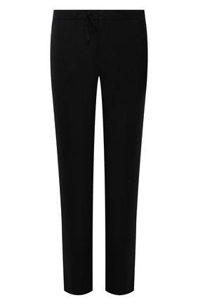 Мужские шерстяные брюки MAISON MARGIELA черного цвета, арт. S50KA0530/S44330 | Фото 1 (Длина (брюки, джинсы): Стандартные; Материал внешний: Шерсть; Случай: Повседневный; Стили: Минимализм)