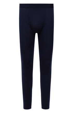 Мужские кальсоны ZIMMERLI темно-синего цвета, арт. 718-8255 | Фото 1 (Материал внешний: Синтетический материал; Кросс-КТ: бельё; Длина (брюки, джинсы): Стандартные)