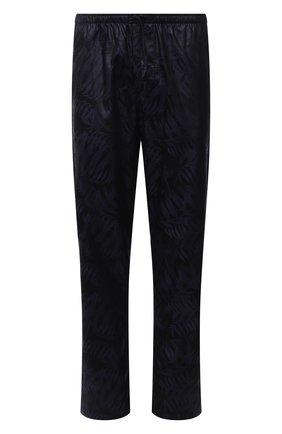 Мужские хлопковые домашние брюки ZIMMERLI темно-синего цвета, арт. 4737-75180 | Фото 1 (Длина (брюки, джинсы): Стандартные; Материал внешний: Хлопок; Кросс-КТ: домашняя одежда)