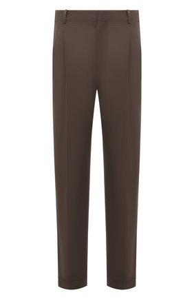 Мужские хлопковые брюки LORO PIANA темно-бежевого цвета, арт. FAL8006 | Фото 1 (Материал внешний: Хлопок; Длина (брюки, джинсы): Стандартные; Случай: Повседневный; Стили: Кэжуэл)