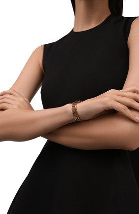 Женский браслет VERSACE золотого цвета, арт. 1001473/1A00620 | Фото 2 (Материал: Металл)