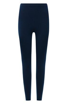 Женские кашемировые леггинсы LORO PIANA синего цвета, арт. FAL4053 | Фото 1 (Материал внешний: Кашемир, Шерсть; Стили: Кэжуэл; Женское Кросс-КТ: Леггинсы-одежда; Кросс-КТ: Трикотаж; Длина (брюки, джинсы): Стандартные)