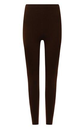 Женские кашемировые леггинсы LORO PIANA коричневого цвета, арт. FAL4053 | Фото 1 (Материал внешний: Шерсть, Кашемир; Стили: Кэжуэл; Женское Кросс-КТ: Леггинсы-одежда; Кросс-КТ: Трикотаж; Длина (брюки, джинсы): Стандартные)
