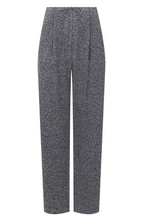 Женские брюки GIORGIO ARMANI синего цвета, арт. 6KAP70/AJB0Z | Фото 1 (Длина (брюки, джинсы): Стандартные; Материал внешний: Вискоза, Синтетический материал; Стили: Спорт-шик; Женское Кросс-КТ: Брюки-одежда; Силуэт Ж (брюки и джинсы): Прямые)