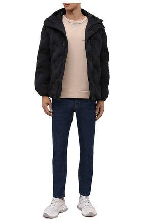 Мужской хлопковый свитшот DOLCE & GABBANA бежевого цвета, арт. G9VD9Z/FU77G | Фото 2 (Длина (для топов): Стандартные; Рукава: Длинные; Материал внешний: Хлопок; Мужское Кросс-КТ: свитшот-одежда; Принт: С принтом; Стили: Гранж)