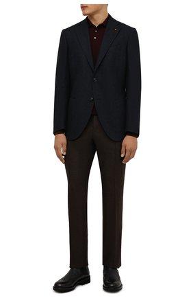 Мужские кожаные челси DOUCAL'S черного цвета, арт. DU12490TTAUF188NN00 | Фото 2 (Материал внутренний: Натуральная кожа; Подошва: Плоская; Мужское Кросс-КТ: Сапоги-обувь, Челси-обувь)
