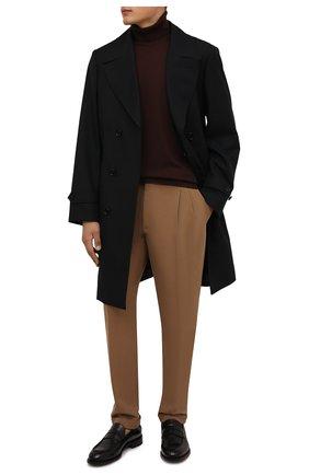 Мужские хлопковые брюки LORO PIANA светло-коричневого цвета, арт. FAL8006 | Фото 2 (Материал внешний: Хлопок; Случай: Повседневный; Длина (брюки, джинсы): Стандартные)