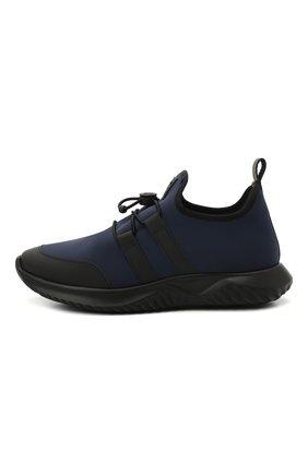 Детские кроссовки IL GUFO синего цвета, арт. G872/CARLIT0/31-34 | Фото 2 (Материал внутренний: Натуральная кожа; Материал внешний: Текстиль)