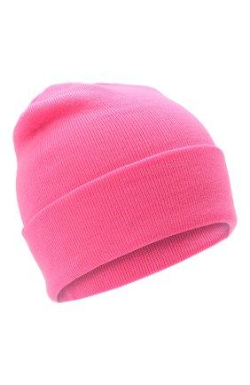 Детского шерстяная шапка IL TRENINO розового цвета, арт. 21 4059/2L | Фото 1 (Материал: Шерсть)