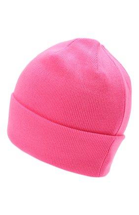 Детского шерстяная шапка IL TRENINO розового цвета, арт. 21 4059/2L | Фото 2 (Материал: Шерсть)
