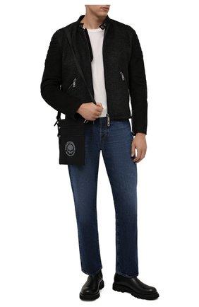 Мужская текстильная сумка HARLEY-DAVIDSON черного цвета, арт. XMP1521-GryBlk   Фото 2 (Материал: Текстиль)
