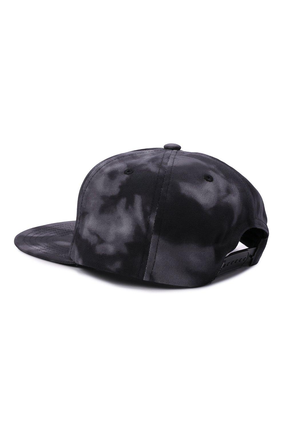 Мужской хлопковая бейсболка HARLEY-DAVIDSON серого цвета, арт. 97691-21VM   Фото 3 (Материал: Текстиль, Хлопок)