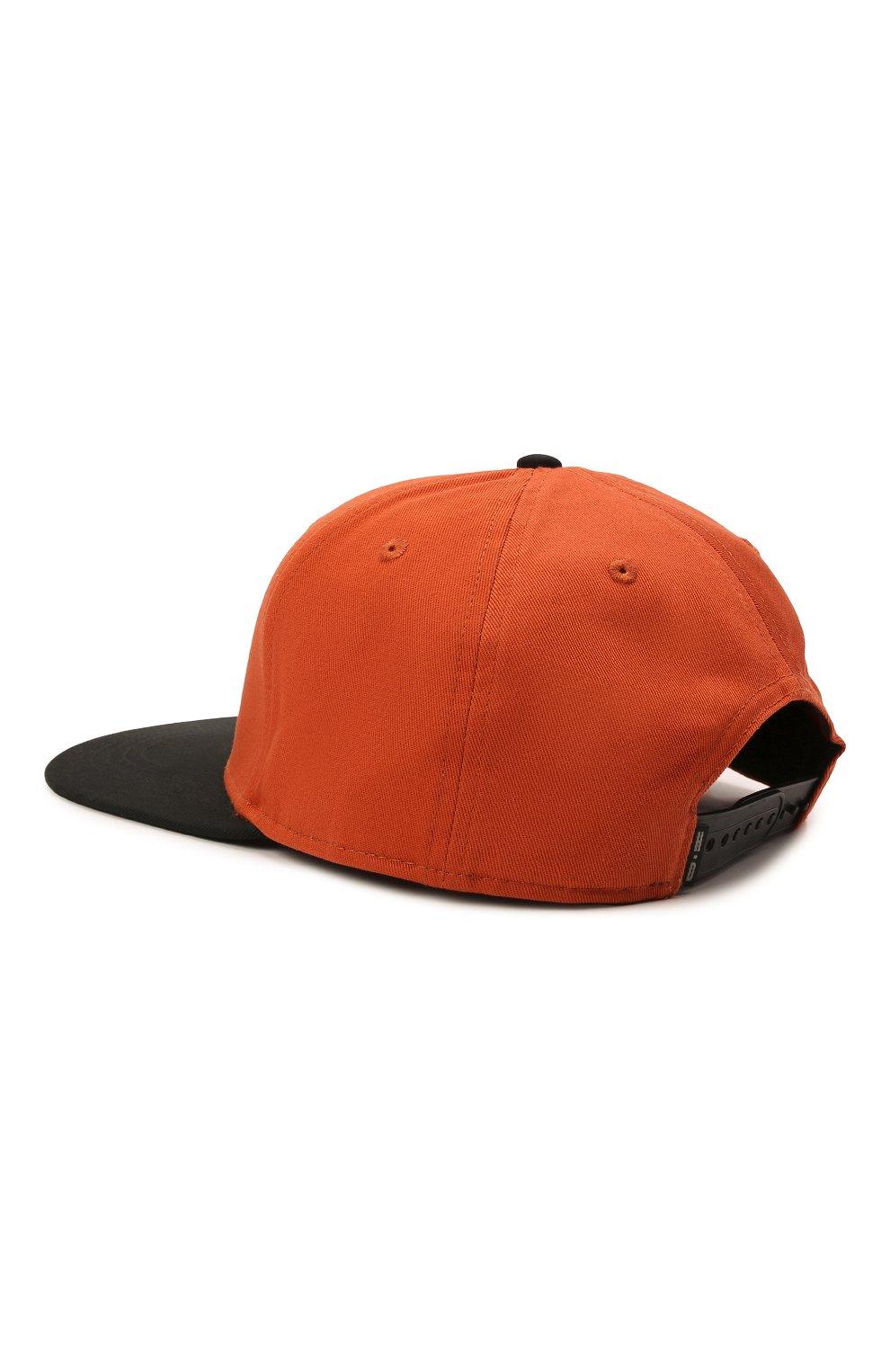 Мужской хлопковая бейсболка HARLEY-DAVIDSON оранжевого цвета, арт. 97700-21VM | Фото 3 (Материал: Текстиль, Хлопок)