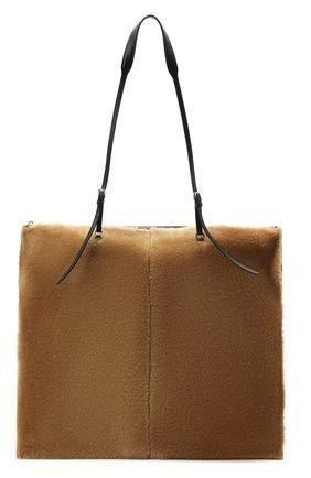 Женский сумка-тоут holster medium JIL SANDER светло-коричневого цвета, арт. JSPT852585-WTB69163 | Фото 1 (Материал: Натуральная кожа; Размер: medium; Сумки-технические: Сумки-шопперы)