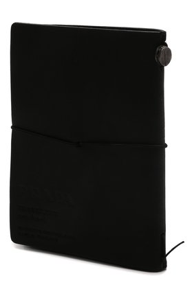 Записная книжка PRADA черного цвета, арт. 2AZ005-2D8W-F0002 | Фото 2