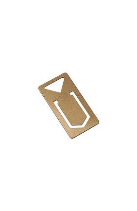 Закладка PRADA золотого цвета, арт. 2KO003-2D80-F0056 | Фото 2