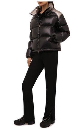 Женские комбинированные ботинки midtrecd PREMIATA черного цвета, арт. MIDTRECD/VAR222   Фото 2 (Материал внутренний: Натуральная кожа; Материал внешний: Экокожа; Каблук высота: Низкий; Подошва: Платформа; Женское Кросс-КТ: Хайкеры-ботинки)