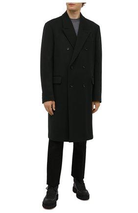 Мужские кожаные ботинки BARRETT черного цвета, арт. ASPEN-10969.18/GUMMY | Фото 2 (Материал внутренний: Текстиль; Подошва: Массивная; Мужское Кросс-КТ: Ботинки-обувь, Хайкеры-обувь)