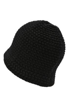 Мужская шерстяная шапка 2 moncler 1952 MONCLER GENIUS черного цвета, арт. G2-092-3B000-02-M1172 | Фото 2 (Материал: Шерсть; Кросс-КТ: Трикотаж)