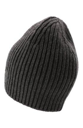 Мужская шапка из кашемира и шерсти 2 moncler 1952 MONCLER GENIUS серого цвета, арт. G2-092-3B000-08-M1213 | Фото 2 (Материал: Кашемир, Шерсть; Кросс-КТ: Трикотаж)