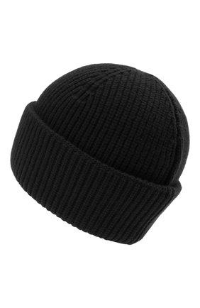 Мужская шерстяная шапка 2 moncler 1952 MONCLER GENIUS черного цвета, арт. G2-092-3B000-09-M1115 | Фото 2 (Материал: Шерсть; Кросс-КТ: Трикотаж)