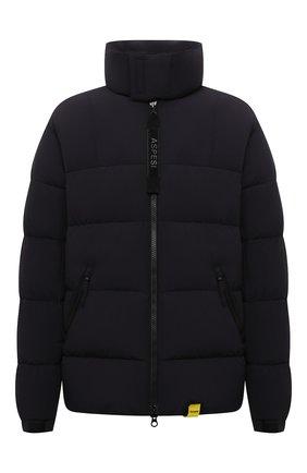 Мужская пуховая куртка ASPESI темно-синего цвета, арт. W1 I 1I31 L589 | Фото 1 (Длина (верхняя одежда): Короткие; Материал утеплителя: Пух и перо; Материал подклада: Синтетический материал; Рукава: Длинные; Материал внешний: Синтетический материал; Кросс-КТ: Куртка; Мужское Кросс-КТ: пуховик-короткий; Стили: Кэжуэл)