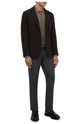 Мужские кожаные пенни-лоферы HOGAN черного цвета, арт. HXM5760DU50QFY   Фото 2 (Материал внутренний: Натуральная кожа, Текстиль; Стили: Классический)