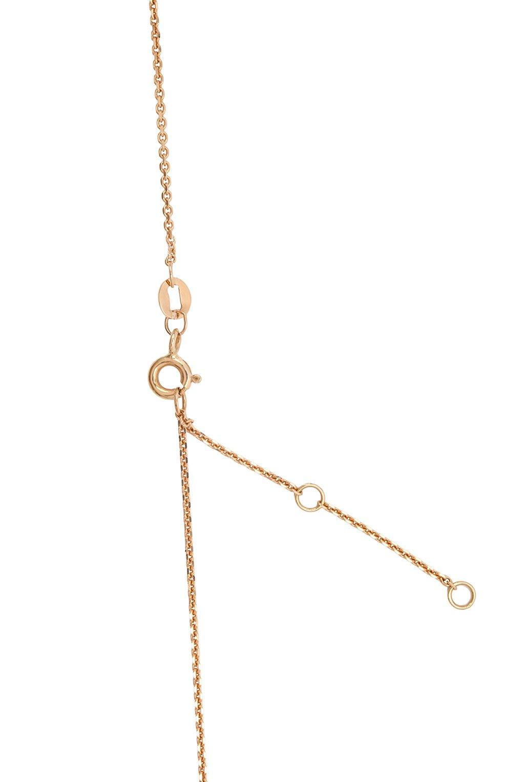 Женское колье JEWLIA золотого цвета, арт. 0302.JR-58   Фото 4 (Материал: Золото)