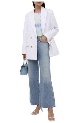 Женское хлопковое боди ELECTRIC&ROSE разноцветного цвета, арт. LFJP15-AURA   Фото 2 (Рукава: Короткие; Материал внешний: Хлопок; Стили: Спорт-шик; Женское Кросс-КТ: Боди-одежда)