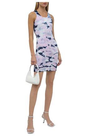 Женское платье из вискозы ELECTRIC&ROSE разноцветного цвета, арт. LFJP14-EPIC | Фото 2 (Материал внешний: Вискоза; Длина Ж (юбки, платья, шорты): Мини; Стили: Спорт-шик; Случай: Повседневный; Кросс-КТ: Трикотаж; Женское Кросс-КТ: Сарафаны, Платье-одежда)