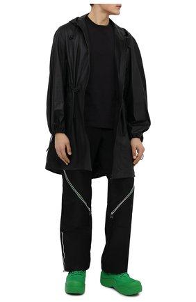 Мужские текстильные ботинки puddle bomber BOTTEGA VENETA зеленого цвета, арт. 667064/VBSD7 | Фото 2 (Материал внутренний: Текстиль; Материал внешний: Текстиль; Мужское Кросс-КТ: Ботинки-обувь)