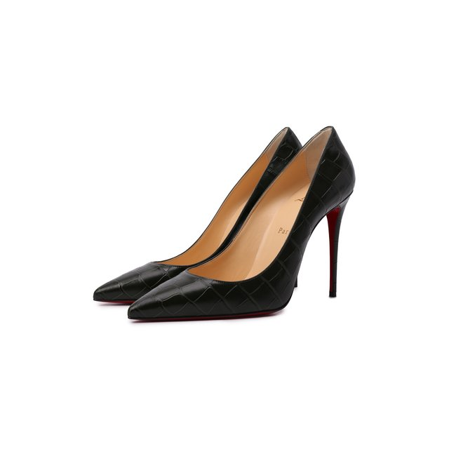 Кожаные туфли Kate 100 Christian Louboutin