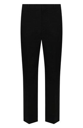 Мужские брюки VALENTINO черного цвета, арт. WV0RBG0070R | Фото 1 (Длина (брюки, джинсы): Стандартные; Материал внешний: Вискоза, Синтетический материал; Случай: Повседневный; Стили: Кэжуэл)