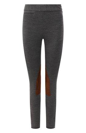 Женские брюки POLO RALPH LAUREN серого цвета, арт. 211845970   Фото 1 (Материал внешний: Синтетический материал, Шерсть; Длина (брюки, джинсы): Стандартные; Женское Кросс-КТ: Брюки-одежда; Стили: Спорт-шик; Силуэт Ж (брюки и джинсы): Узкие)