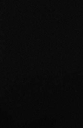 Женская шерстяная юбка VALENTINO черного цвета, арт. WB0RA8506LR | Фото 5 (Материал внешний: Шерсть; Длина Ж (юбки, платья, шорты): Мини; Женское Кросс-КТ: Юбка-одежда; Материал подклада: Вискоза; Стили: Кэжуэл)