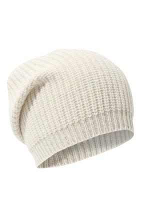 Детского шапка из шерсти и кашемира BRUNELLO CUCINELLI кремвого цвета, арт. B9DM50299C | Фото 1 (Материал: Шерсть, Кашемир)