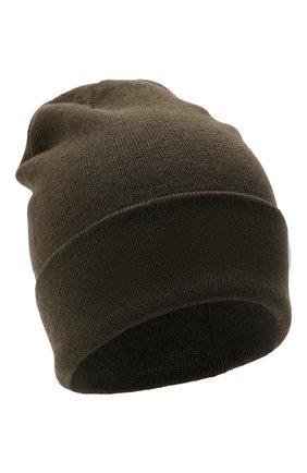 Детского шерстяная шапка IL TRENINO темно-серого цвета, арт. 21 4059/2L | Фото 1 (Материал: Шерсть)