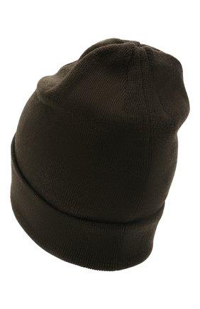 Детского шерстяная шапка IL TRENINO темно-серого цвета, арт. 21 4059/2L | Фото 2 (Материал: Шерсть)