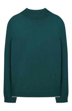 Детский шерстяной пуловер LORO PIANA зеленого цвета, арт. FAL2698 | Фото 1 (Материал внешний: Шерсть; Девочки Кросс-КТ: Пуловер-одежда; Рукава: Длинные; Ростовка одежда: 10 - 11 лет | 140 - 146см, 12 лет | 152 см, 2 года | 92 см, 4 года | 104 см, 6 лет | 116 см, 8 лет | 128 см)