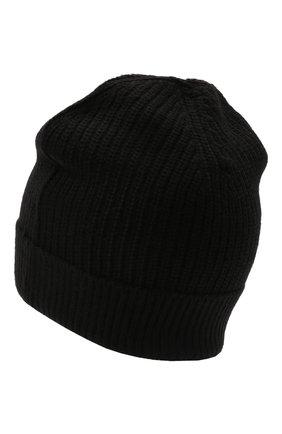 Детского шапка NEIL BARRETT KIDS черного цвета, арт. 028989   Фото 2 (Материал: Текстиль, Синтетический материал)