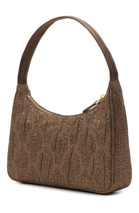 Женская сумка prada re edition bag PRADA коричневого цвета, арт. 1NE515-2AH6-F02RB   Фото 2 (Материал: Текстиль; Сумки-технические: Сумки top-handle)