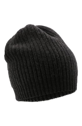 Детского кашемировая шапка BRUNELLO CUCINELLI темно-серого цвета, арт. B52M50299C | Фото 1 (Материал: Шерсть, Кашемир)