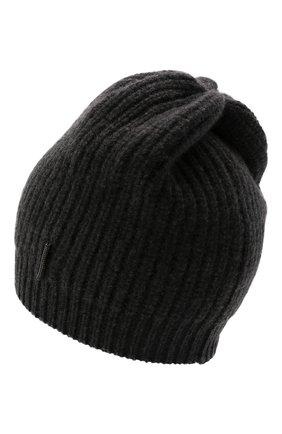 Детского кашемировая шапка BRUNELLO CUCINELLI темно-серого цвета, арт. B52M50299C | Фото 2 (Материал: Шерсть, Кашемир)