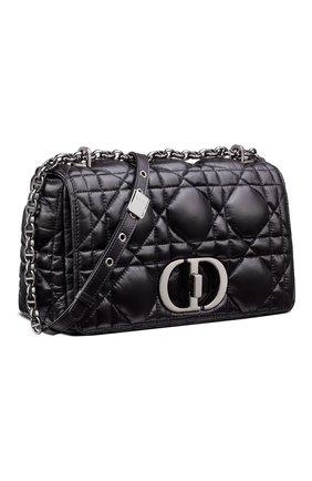 Женская сумка dior caro medium DIOR черного цвета, арт. M9242BNGKM900   Фото 2 (Материал: Натуральная кожа; Сумки-технические: Сумки через плечо; Женское Кросс-КТ: Вечерняя сумка; Размер: medium)